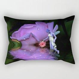A  Fairys World Rectangular Pillow