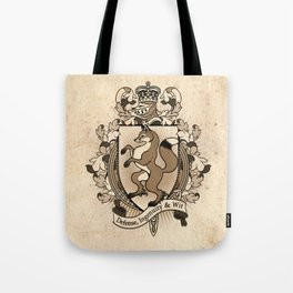 Fox Coat Of Arms Heraldry Tote Bag