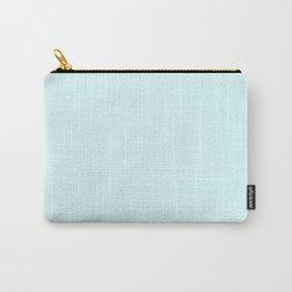Cyan Soft Blush Solid Palette Pastels Décor Colour Blocks Carry-All Pouch