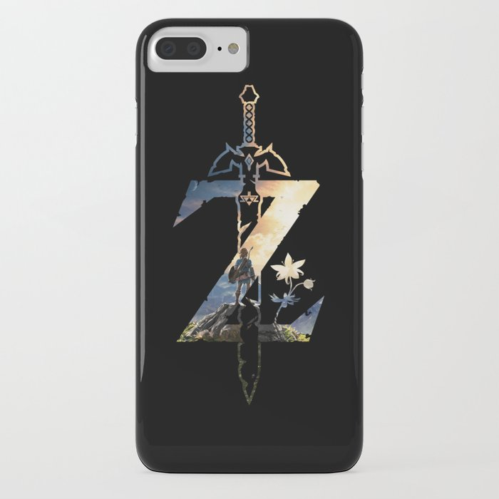 z [breath of the wild] iphone case