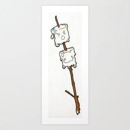 Marshmallow Cuties Art Print