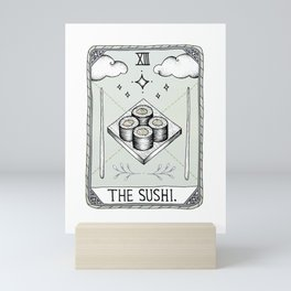 The Sushi Mini Art Print