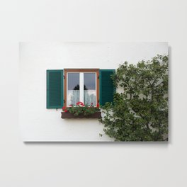 Window, Bavaria Metal Print