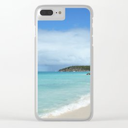 Antigua Beach Clear iPhone Case
