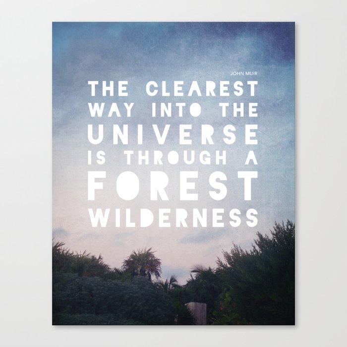 Wilderness Canvas Print