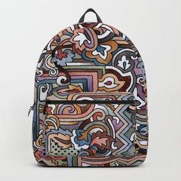 Rayas y rulos Backpack