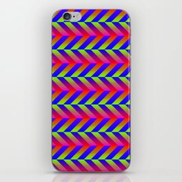 Zig Zag Folding iPhone Skin