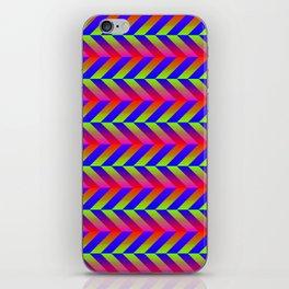Zig Zag Folding iPhone Skin
