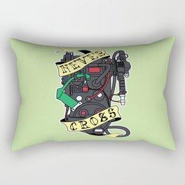 Never Cross Rectangular Pillow