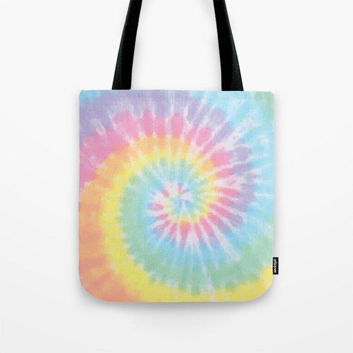 Pastel Tie Dye Tote Bag