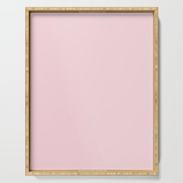 BLUSH PINK COTTON CANDY SOLID COLOR Serving Tray