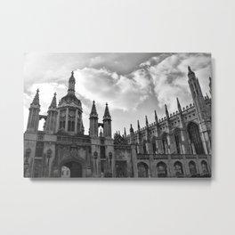 Visions of Cambridge University Metal Print
