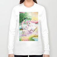 fairy tale Long Sleeve T-shirts featuring Fairy Tale by Julie Edwards