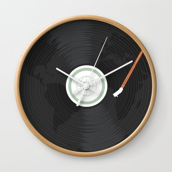 World Record Wall Clock