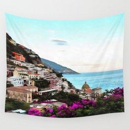 Amalfi Coast Wall Tapestry