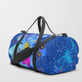 blu Duffle Bag