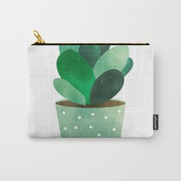 Watercolor Cactus Carry-All Pouch
