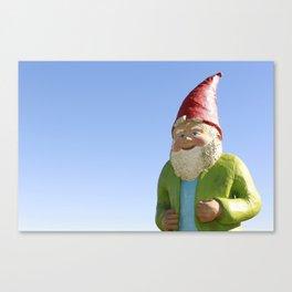 Giant Garden Gnome Canvas Print