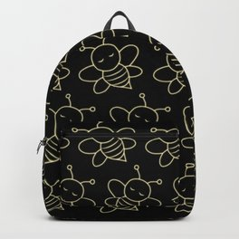 Fluorescent Bees Backpack