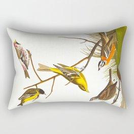 Arkansaw Siskin Bird Rectangular Pillow