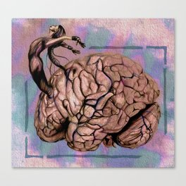 Frontotemporal Dementia Canvas Print