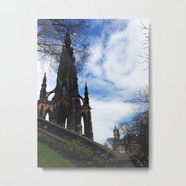 Scottish Monument Metal Print