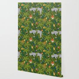 Animals in the Jungle Wallpaper