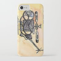 medical iPhone & iPod Cases featuring The Medical Chopper by Sean Greenberg Illustration