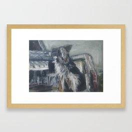 Grandpas Study Framed Art Print