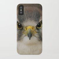 millenium falcon iPhone & iPod Cases featuring Falcon by Pauline Fowler ( Polly470 )