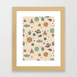 Cute Universe Framed Art Print