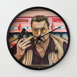 Walter / The Big Lebowski / John Goodman Wall Clock