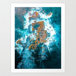 Wedding Cake Island Art Print