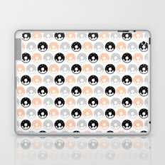 Frosted Donuts - Peach Laptop & iPad Skin