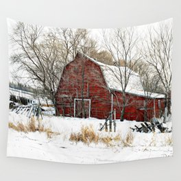 A Cold Day in December Wall Tapestry