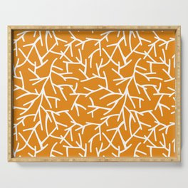 Branches - Orange Serving Tray
