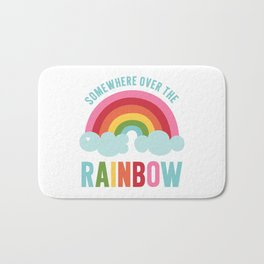 Somewhere Over the Rainbow Bath Mat