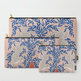 Leopard Vase Carry-All Pouch