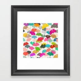 ginkgo 3 Framed Art Print