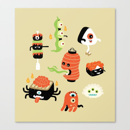 Izakaya Monsters Canvas Print