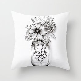 Primavera nel cuore Throw Pillow