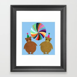 Circus Bears II Framed Art Print