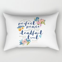 Perfect Peace Rectangular Pillow
