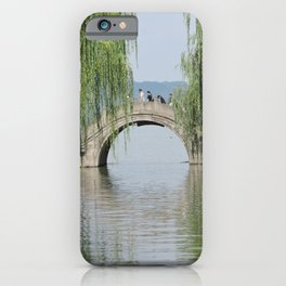 Lakeside Bridge iPhone Case