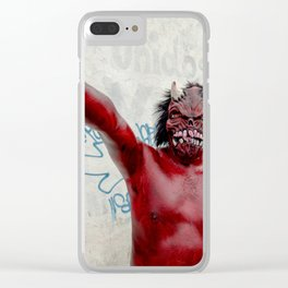 One mexican devil Clear iPhone Case