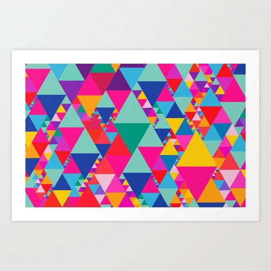 Party Colors II Art Print