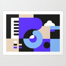 Sounds I Art Print
