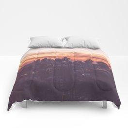 California, Los Angeles, beach, seaside, ocean, surf, downtown, Cali, SoCal Comforters