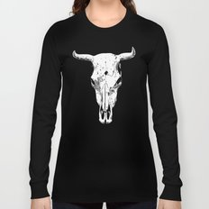 Longhorn skull Long Sleeve T-shirt
