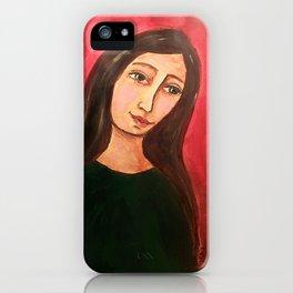 Mademoiselle Lundi iPhone Case